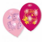 Latexballons Einhorn 23cm 6 Stück