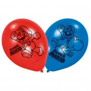 Latexballons Super Mario 8 Stück 22cm