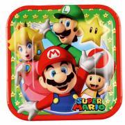 Pappteller Super Mario 18cm 8 Stück