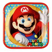 Pappteller Super Mario 23cm 8 Stück