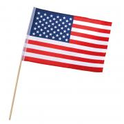 Stockflagge Fahne USA 30x45cm