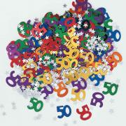 Konfetti Metall bunt #50 14g