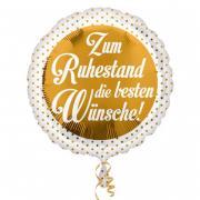 Folienballon Alles Gute zum Ruhestand 43cmØ