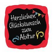 Folienballon Glückwunsch zum Abitur 43cmØ