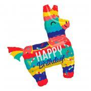 Folienballon Happy Birthday Pinata 73x83cm