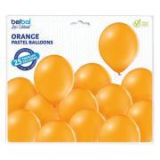Latexballons Pastell Orange 30cmØ 25 Stück