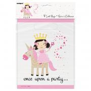 Geschenktüte PVC Prinzessin & Einhorn 8 Stück