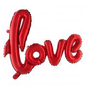 ABC14 Ballongirlande LOVE Rot ca. 100cm