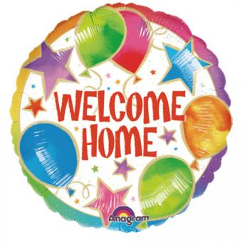 Folienballon Welcome Home ø45cm