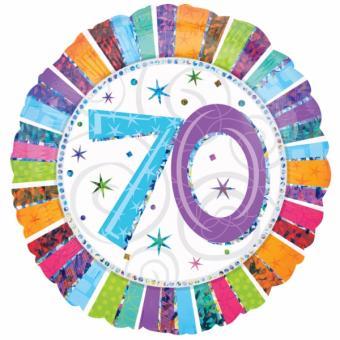 Folienballon Happy Birthday Radiant #70 45cmØ