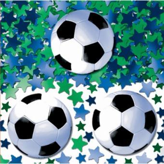 Konfetti Metallic Fussball 14g