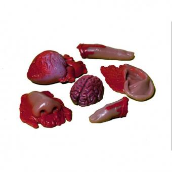 Grusel-Deko blutiges Körperteil