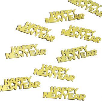 Konfetti Metallic Happy New Year Gold 10 Gramm