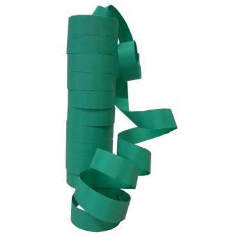 Luftschlangen Grün 1 Rolle 6m