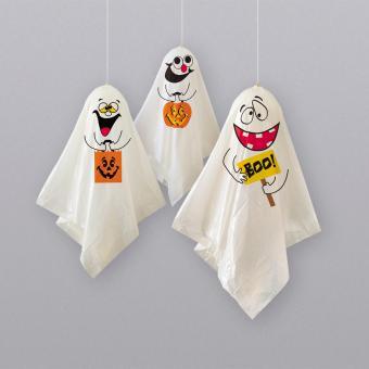 3 lustige Geister zum Hängen
