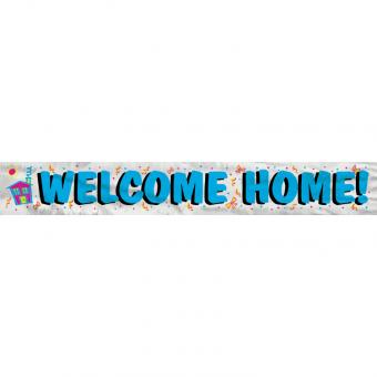 Banner Welcome Home 365cm