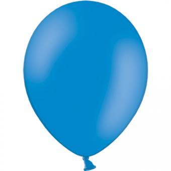 Latexballons Pastell Mittelblau 30cmø 100 Stück