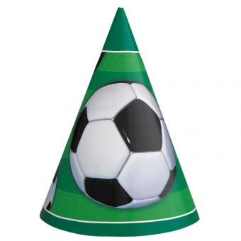 Partyhüte Fussball 8 Stück