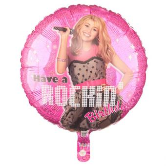 Folienballon Hannah Montana Rockin Birthday 54 cm