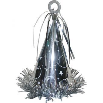 Ballongewicht Hut Silber 170g