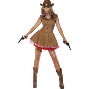 Damenkostüm Sexy Cowgirl M