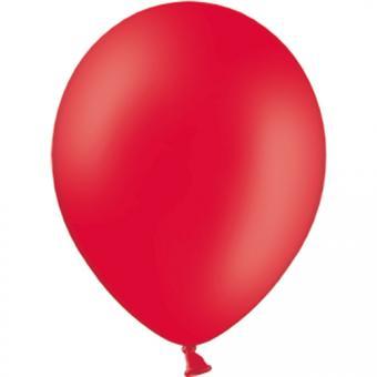 Latexballons Pastell Rot 30cmø 100 Stück