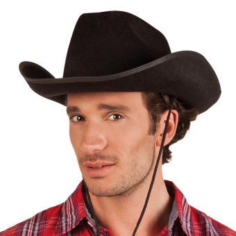 Hut Cowboy Lucky Schwarz