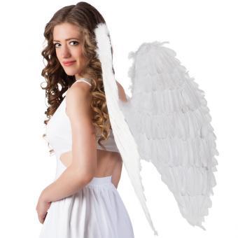 Flügel Engel weiß 87x72cm