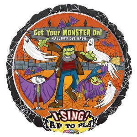 Musikballon Get Your Monster On 71cmØ