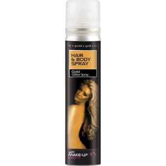 Haarspray & Bodyspray UV gold