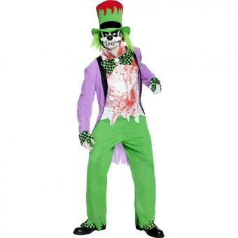 Kostüm Irrer Clown mit Maske M