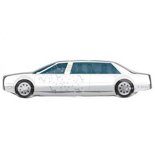 ABC Shape Just married Limousine