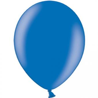 100 Latexballons ø30cm Royalblau Metallic