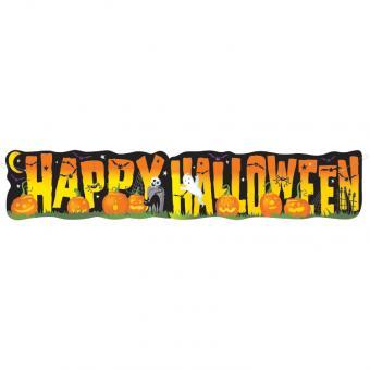 XL-Banner Happy Halloween 140cm