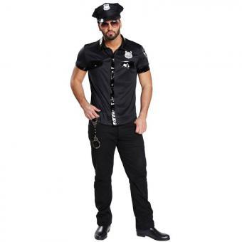 Männerkostüm Polizist USA 52