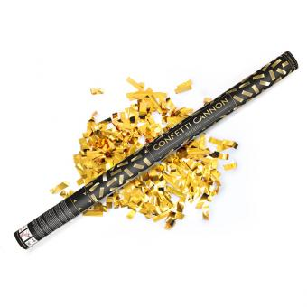 Konfetti Shooter Streifen Gold 80cm 1