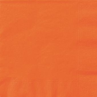 Servietten Lunch Orange 33x33 cm 20 Stück
