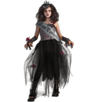 Kinderkostüm Gothic Prom-Queen M