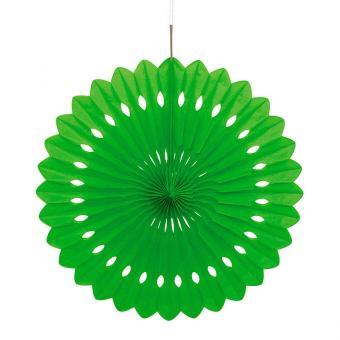 Dekofächer Uni 40cm/1St. Kiwi/Limegreen