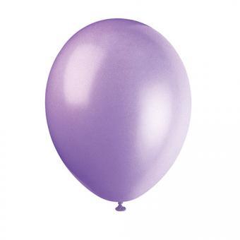 Latexballons Metallic Lavendel 30cmØ 10 Stück