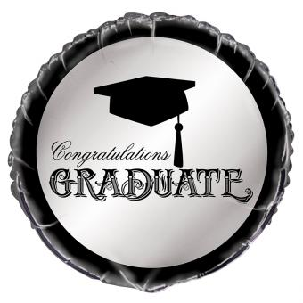 Folienballon Congratulations Graduate 45cmØ