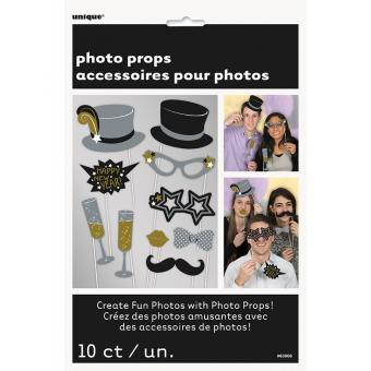 Foto-Kit Happy New Year 10-teilig