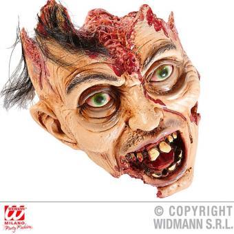 Grusel-Deko abgerissenes Zombie-Gesicht 26cm