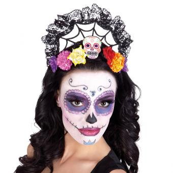 Haarreif Sugar Skull Sweet / Day of the Dead