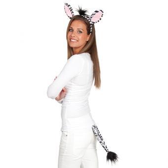 Kostüm-Kit Zebra