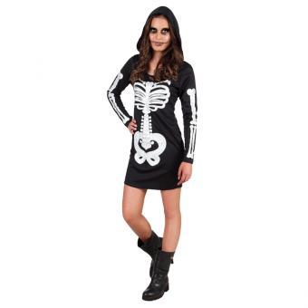 Kostüm Skelettdame für 14-16-Jährige