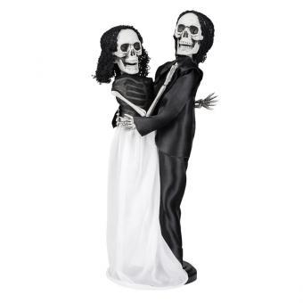 Skelett Tango Brautpaar 41cm