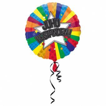 Folienballon Juhu Bestanden ø43cm