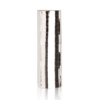Luftschlangen Metallic Silber 1 Rolle