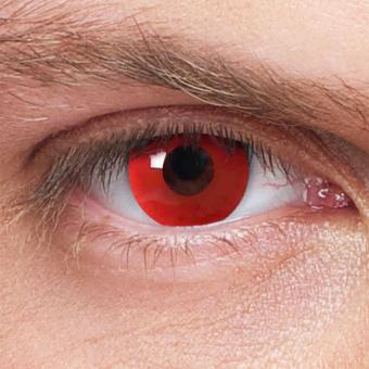 Kontaktlinsen Red Devil Rot